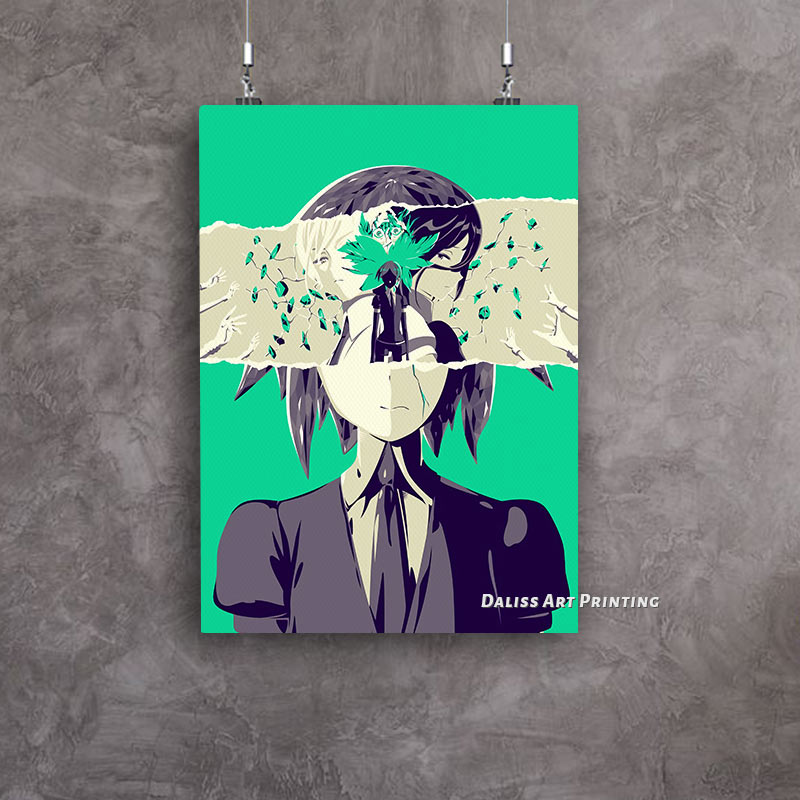 Canvas Anime Loss Houseki no Kuni Pictures Home Decoration Paintings Poster HD Prints Wall Art Modular Living Room Framed