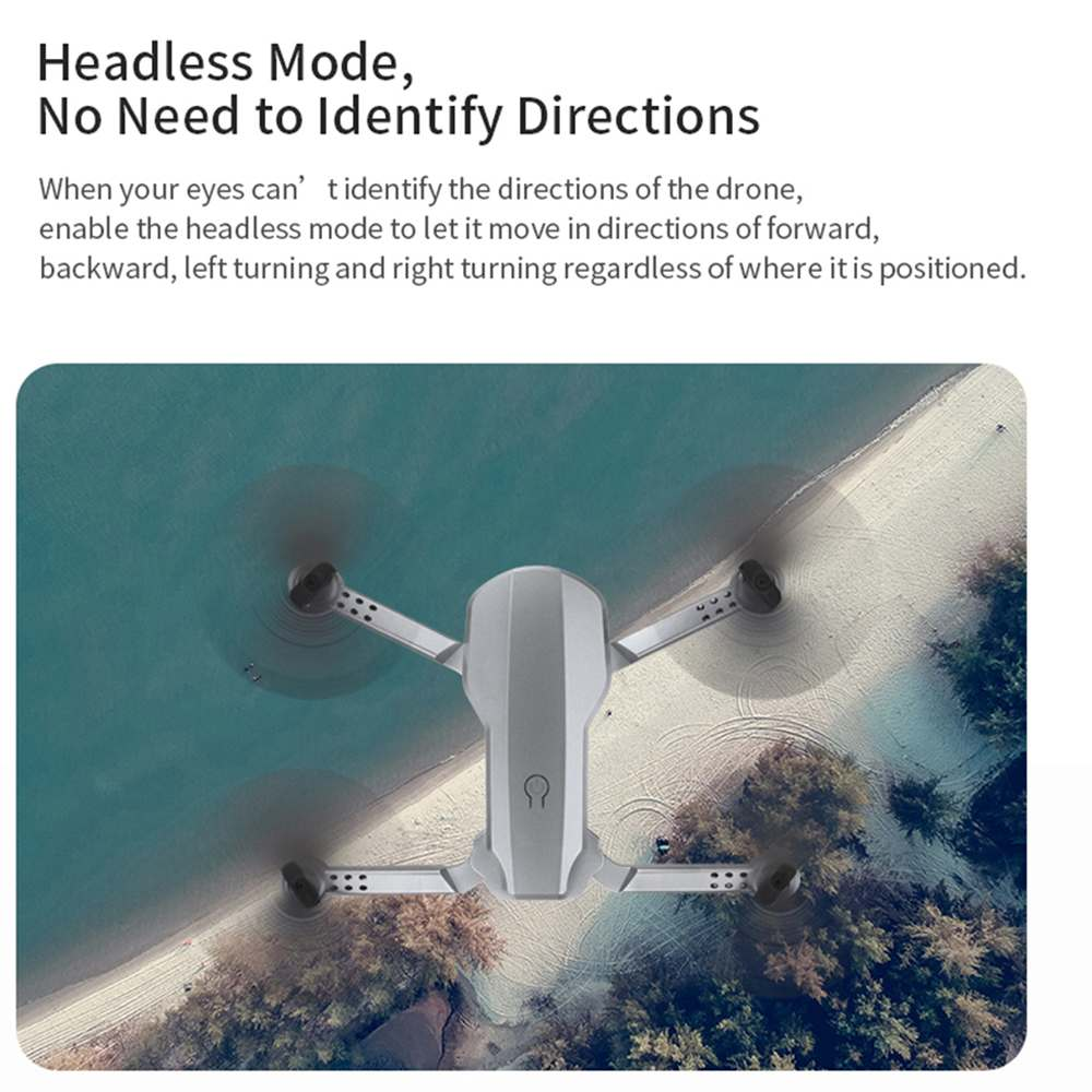 Topacc T58 WIFI FPV 106.7g Foldable Arm Drone RC Quadcopter Mini Wide Angle Profesional HD 1080P Camera Hight Hold Mode RTF Dron 3
