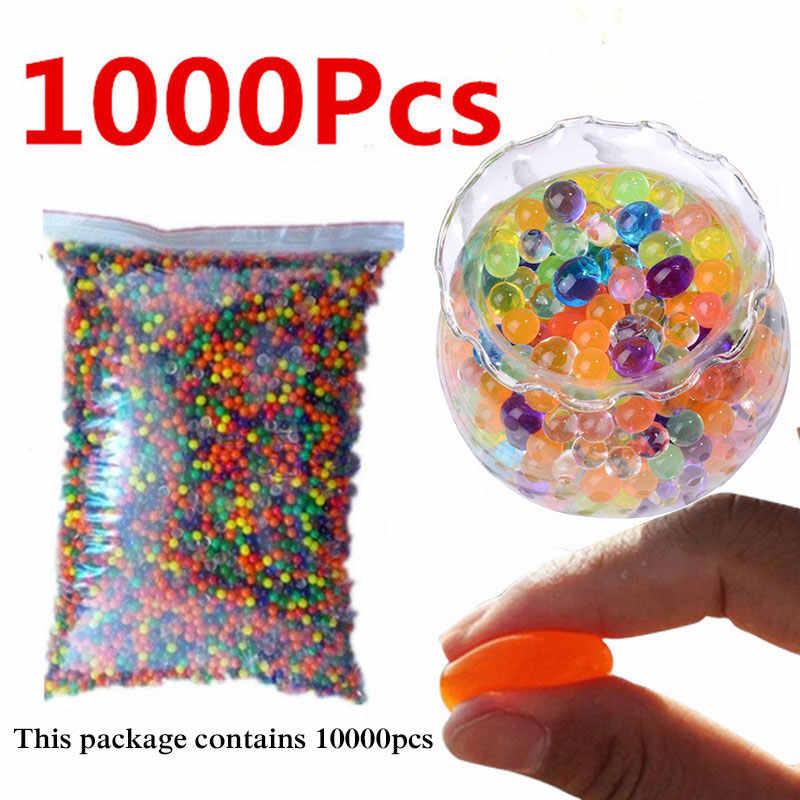 500/1000 יח'\שקית מים חרוזים קריסטל כדור הידרוג 'ל ג' ל עיצוב לבית ילדים צעצוע כדורי 5zSH760