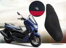 Чехол для подушки сиденья мотоцикла сетчатый 3D сетчатый протектор изоляционный чехол для подушки для Yamaha NMAX155 NMAX 155 2020