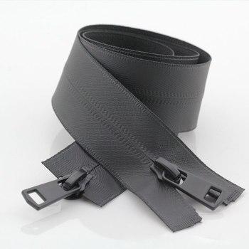 Черного цвета на каблуках высотой 5 # непрерывные молнии Водонепроницаемый застежек-молний двойными собачками good Market невидимых застежек-молний для пошива курток спортивные швейная молния поделки своими руками