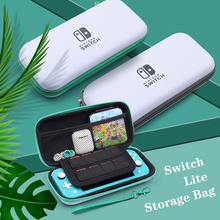 For Nintend Switch Lite Console Storage Case Carry Bag Mini Switch Travel Game Card Slot Case For Nintendoswitch Lite Accessory