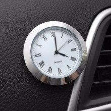 Horloge à Quartz de voiture, ornement de montre automobile, décoration intérieur automobile affichage de l'heure, accessoires de voiture, cadeaux