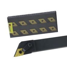 1pc MDJNR2020 MDJNR2525  External Turning Tool Holder DNMG Carbide Inserts Lathe Bar CNC Cutting Tools Set