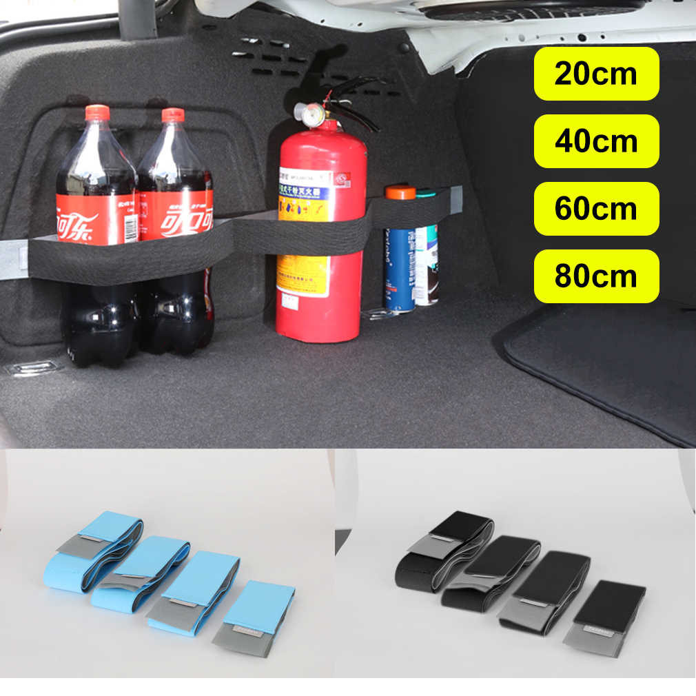 Car Trunk Organizer Fixing Belt Storage Bag Magic Tapes Auto Car Accessries Stowing Tidying Car-styling  Car Organizers