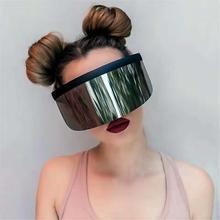 Visor Sunglasses Product Trending Nicki Mirror Minaj-Style Fashion Shades Women Global