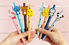 1pcs/lot Lovely Japan Cartoon design ball pen Korean Style Princess ballpoint canetas escolar school supplies stationery(China)