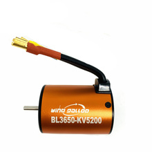 цены Waterproof Brushless Motor 1:10 BL3650 3900KV 4300KV 5200KV Sensorless Brushless Motor 4 Poles for RC 1/10 Car Boat