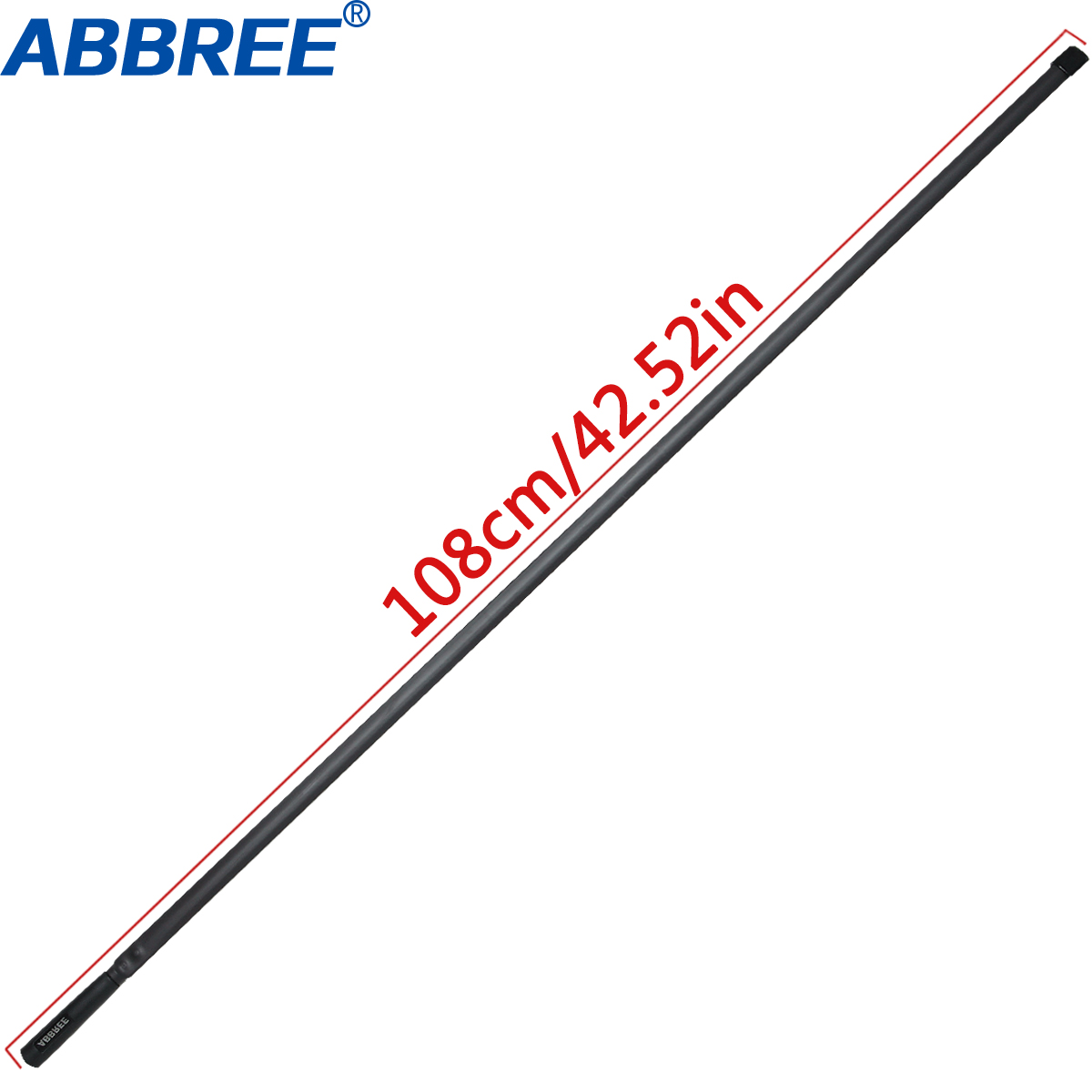 Image 3 - ABBREE Tactical Antenna 27Mhz 72/108CM CB Portable Radio with BNC Connector for Cobra Midland Uniden Anytone CB Radio-in Walkie Talkie from Cellphones & Telecommunications