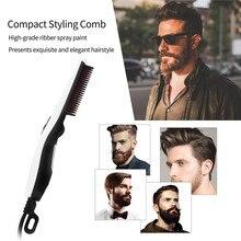 Electric Beard and Hair Straightener Brush Quick Heater Ioni