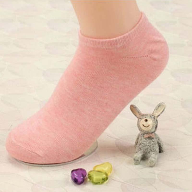 USUS-B3  Women  Fashion Stripe   Thin  Slippers Gril Short Socks