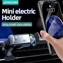 Car Phone Holder Stand For iPhone Mini Electric Universal Phone Holder Automatic adjustment Air Vent Mount Holder For iPhone 11