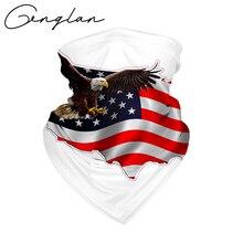 Headwear Bandanas Hoodie Flag-Mask Washable Sport Trump USA Riding Seamless Outdoor