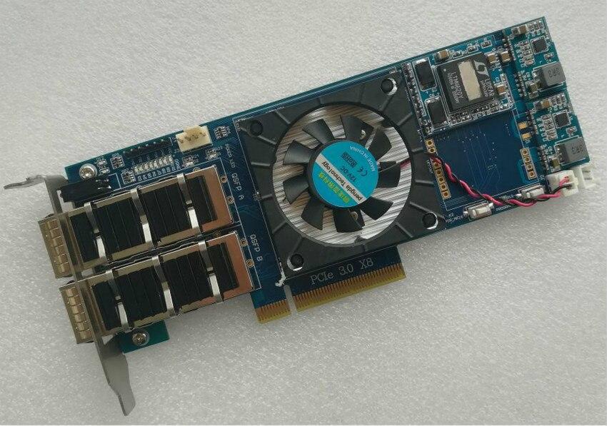 Kintex UltraScale XCKU040 PCIE 3.0 QSFP Xilinx Board Xilinx Fpga Board Xilixn Fpga Development Board Pcie Board