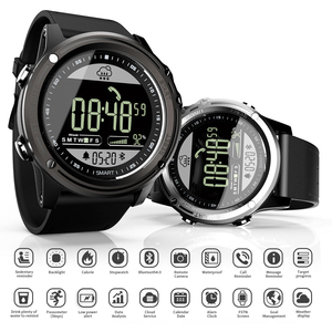 Image 2 - LOKMAT Sport Smart Watch Pedometer 5ATM Waterproof Real time Weather Clock Digital Men Bluetooth SmartWatch For IOS & Android