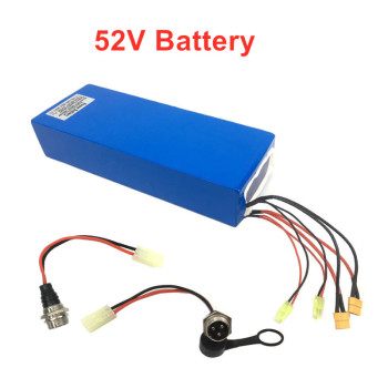 52V 58.8V 18-35AH Battery Pack for Electric scooter with max 8A-10A fast charging ebike kick scooter LG Lithium Battery Pack