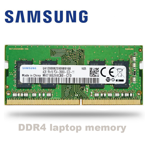 Samsung ordinateur portable, nouveau, 4 go ddr4, 8 go, 16 go, 32 go, 2666MHz ram sodimm, 4 go, 8 go, 16 go, 32 go RAM, mémoire mémoire sodimm