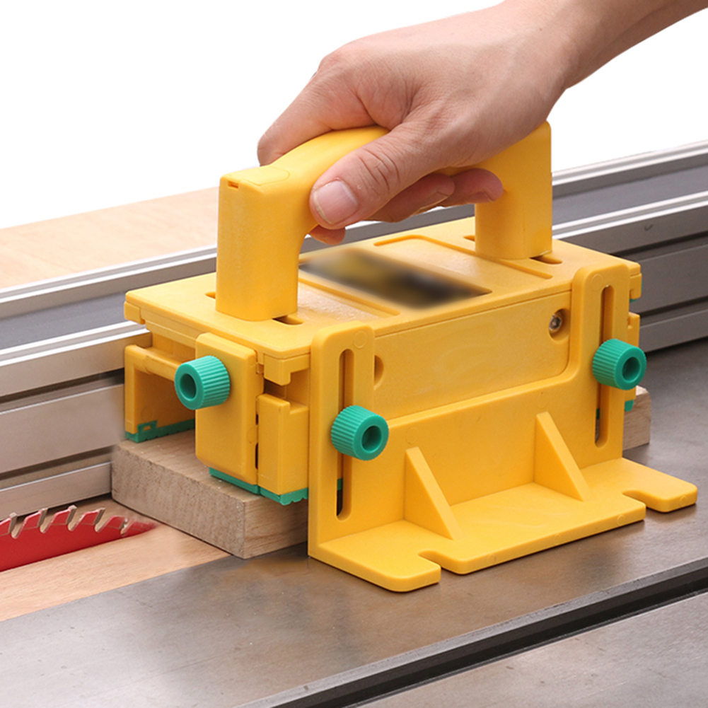 3D Safety Pusher Assistant Tools Woodworking Flip Table Saw Vertical Milling Planer Saw Pusher Safety Feeder Woodworking