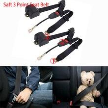 1 Pair Car Safety Belt Extender Seat Cover Retractable 3 Point Extension Plug Buckle Seatbelt Clip Auto Accessori