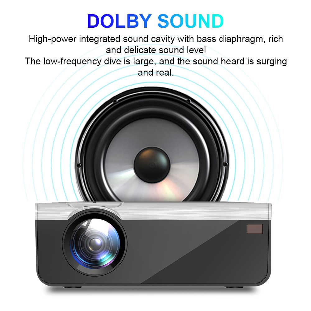 UNIC-proyector de vídeo LED G08 480/720P, Full HD, Android, wi-fi, compatible con AC3, de 150 pulgadas, con USB, para cine en casa