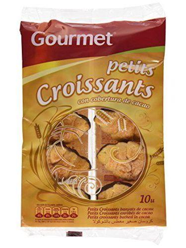 Gourmet - Petits Croissants Bañados Al Cacao - 10 Unidades - 150 G