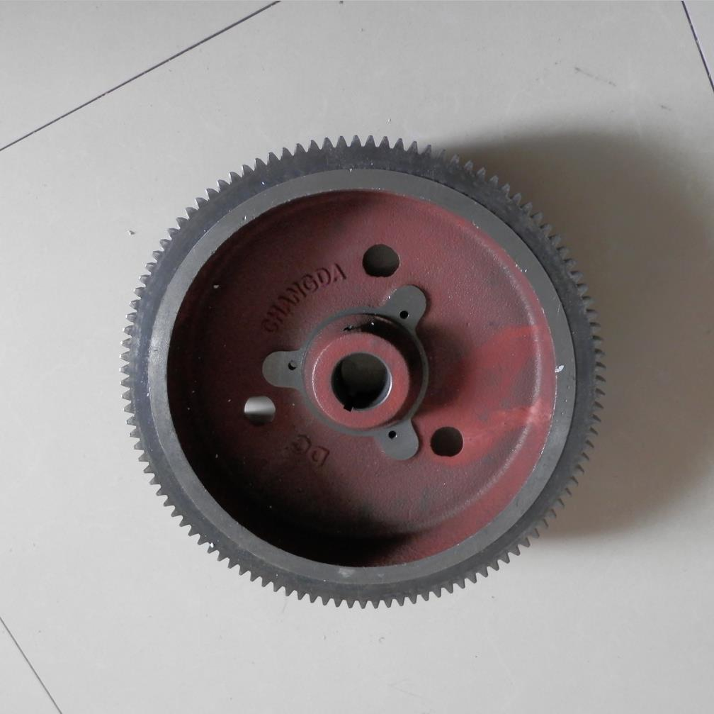 L100 FLYWHEEL & GEAR FITS YANMAR & MORE 9HP 10HP DIESEL 5KW ELECTRIC START KIT CW DIRE. FLY WHEEL
