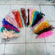 1 пучок красивые индейки featherприблизительно 30 см свадебные корсажи Перья Ремесло для головного убора Свадебные украшения Аксессуары