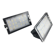 2pcs Car Free LED License Plate Light Lamp For Land Range Rover Sport L320 2005 2006 2007 2008 2009 2010 2011 2012 2013