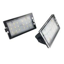 2pcs 무료 LED 번호판 라이트 램프 랜드 로버 스포츠 L320 2005 2006 2007 2008 2009 2010 2011 2012 2013