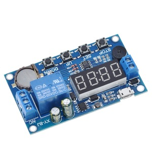 Image 5 - DC 5V Real time Timing Delay Timer Relay Module Switch Control Clock Synchronization Multiple mode control Wiring diagram
