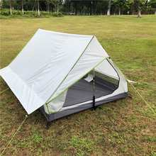 Camping Sun Shelter Tent Shade Awning Pole Less Portable A-shaped Camping Tent UltraLight Outdoor Equipment Camping Supplies(China)