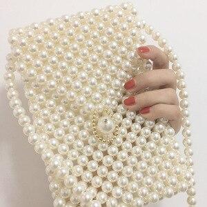 Luxury pearl bag trendy women 2020 bag m