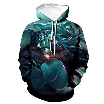 2020 New Game LOL 3D Printed Hoodies league of legends Men Women Fashion Hooded Sweatshirt Casual Pullover Hip Hop Unisex Hoodie 2