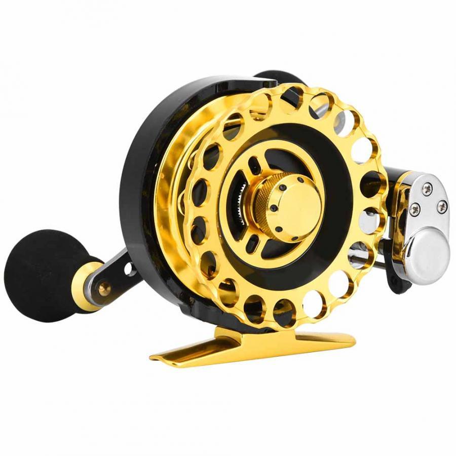 8 + 2.6: 1 moulinet de pêche à droite roulements à billes roues de pêche à la carpe CNC roue de pêche à la traîne pour la rivière de mer accessoires de pêche d'hiver