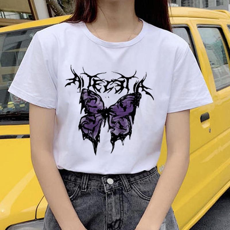 T-shirts de verão camisetas de moda de verão de moda de moda de verão