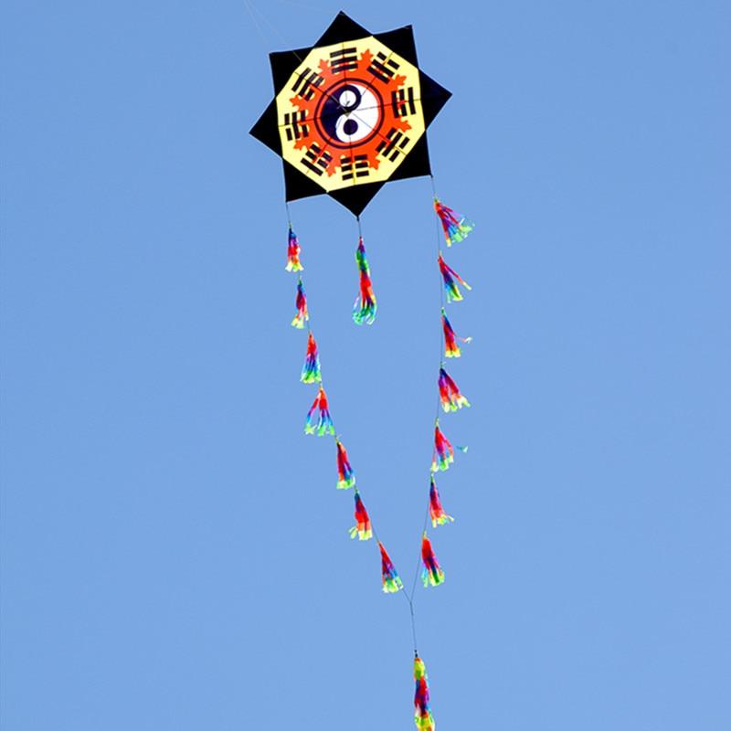 Livraison gratuite nouveau ragot cerf-volant mouche pour jouets de plein air parachute cerfs-volants pour adultes aigle latawiec bobine kevlar vlieger fairy as ouvert