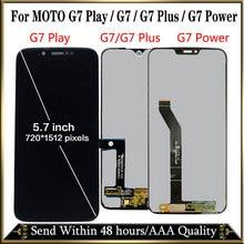 100% Протестировано для Motorola Moto G7 XT1962 LCD G7 Play дисплей сенсорный экран Сенсорная панель дигитайзер сборка для moto G7 Power LCD