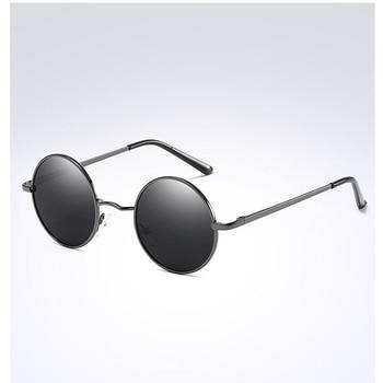 цена на Men Retro Sunglasses Polarized Sunglasses for Men /Women Classic Vintage Round Men Sun Glasses Metal Frame UV400 Eyewear