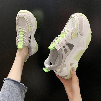 Sports shoes women 2020 new ladies casual shoes outdoor running sports shoes comfortable breathable mesh ladies mesh single shoe