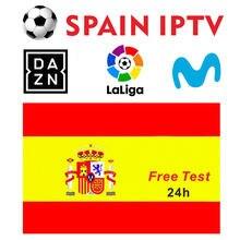 Hot Sale Spain Germany UK Smart IPTV Pro Europe HD TV M3U SMART TV ANDROID MAG