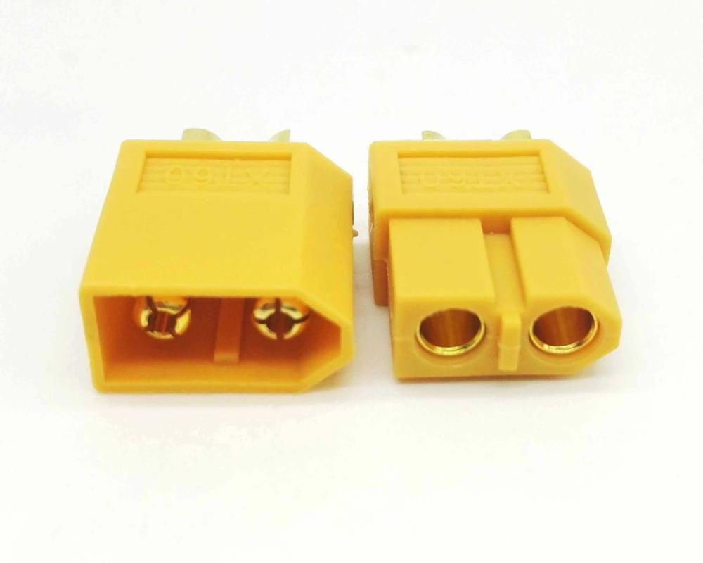 XT60 Male And Female Connectors Plugs 10 Pairs Electric Skateboard DIY Connectors