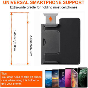 Image 5 - Smartphone Selfie Booster Handle Grip Bluetooth Photo Stabilizer Holder with Shutter Release 1/4 Screw Phone Stand