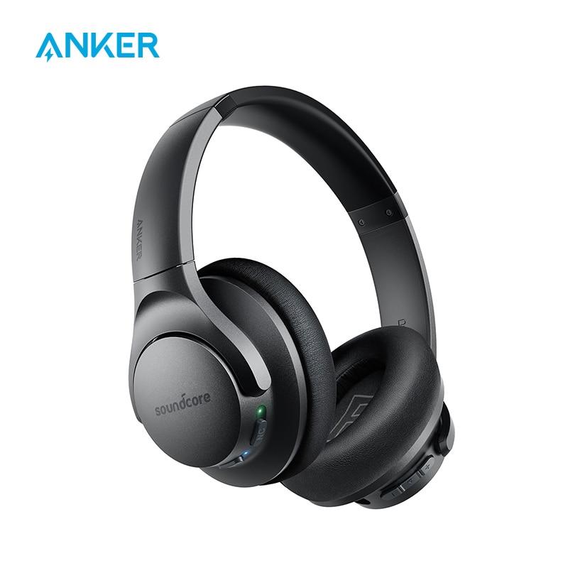 Гибридные наушники Anker Soundcore Life Q20 с активным шумоподавлением, беспроводные накладные Bluetooth-наушники