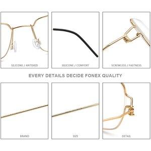Image 4 - Мужские и женские Безвинтовые очки от близорукости, 98606