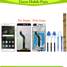 GRE LCD Display  For Huawei P9 Lite / Huawei G9 VNS-L21 VNS-L22 VNS-L23 VNS-L31 VNS-L53 LCD Display With Touch Screen Assembly ltm190m2 l31 lcd display screens