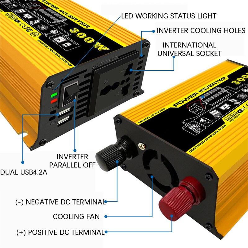 usb display led eletrodomésticos inversor de energia