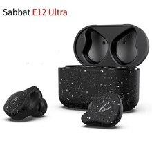 Sabbat auriculares inalámbricos E12 Ultra TWS con Bluetooth, Qualcomm v5.0, aptX, deportivos, estéreo HiFi, reducción de ruido, PK x12