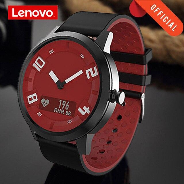 Lenovo שעון X לב שיעור דם לחץ Bluetooth Smartwatch ספיר מראה ספורט שעון מתכת IP68 עמיד למים עבור גברים נשים