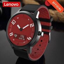 لينوفو ساعة X معدل ضربات القلب ضغط الدم بلوتوث Smartwatch الياقوت مرآة الرياضة ساعة معدنية IP68 مقاوم للماء للرجال النساء