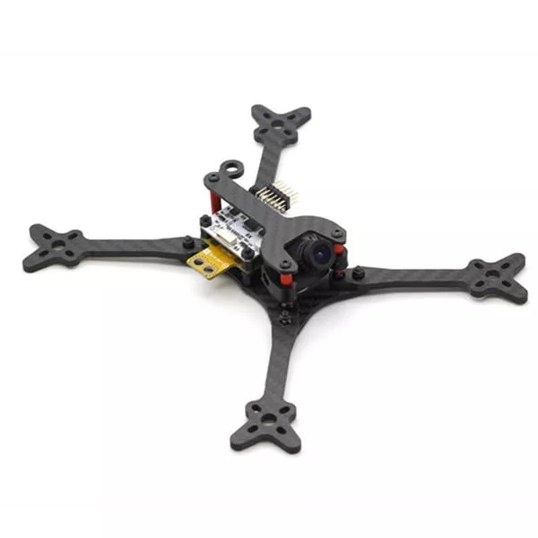 Neue muster HSKRC Foss <font><b>210</b></font> 210mm Radstand 4mm Arm 3K Carbon Faser 5 Inch FPV Racing Rahmen kit für RC <font><b>Drone</b></font> image